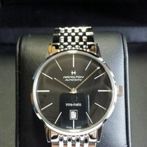 Hamilton Intra-Matic new 2019 Automatic Watch with original box and original papers H38455131