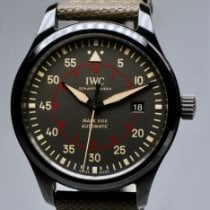 IWC Ceramic Automatic Grey Arabic numerals 41mm pre-owned Pilot Mark