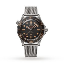 Omega new Automatic 42mm Titanium Sapphire crystal