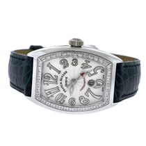 Franck Muller Conquistador White gold 38mm White Arabic numerals United States of America, New York, NEW YORK CITY