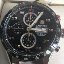 TAG Heuer Carrera Calibre 16 neu 2020 Automatik Chronograph Uhr mit Original-Box und Original-Papieren CV2A1R.BA0799