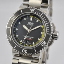 Oris Aquis Depth Gauge Steel 46mm Black United States of America, Ohio, Mason
