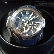 Graham Prodive Acier 45mm Bleu