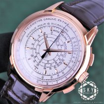 Patek Philippe Chronograph Rose gold 40mm Silver United States of America, New York, New York