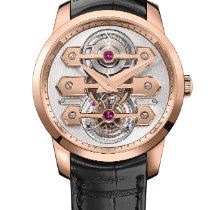 Girard Perregaux Rose gold Automatic 40mm new Bridges