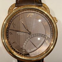 Hermès Yellow gold 43mm Automatic 43mm pre-owned United States of America, New York, Forest Hills
