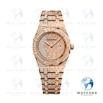Audemars Piguet Royal Oak Lady Oro rosa 33mm Oro Sin cifras