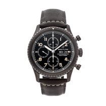 Breitling Navitimer 8 pre-owned 43mm Black Chronograph Date Leather