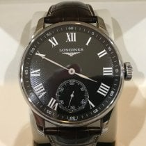 Longines Master Collection Steel 47mm Black Arabic numerals United States of America, Colorado, PARKER