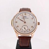 IWC Portuguese Minute Repeater IW544907 Muy bueno Oro rosa 44mm Cuerda manual