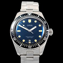 Oris Divers Sixty Five Steel 40.00mm Blue United States of America, California, Burlingame