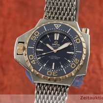 Omega Seamaster PloProf Gold/Steel 55mm Blue