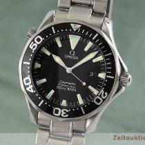 Omega Seamaster Diver 300 M occasion 41.5mm Noir Date Acier