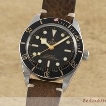 Tudor Black Bay Fifty-Eight pre-owned 39mm Black Calf skin