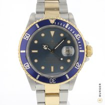 Rolex Submariner Date 16803 Good Gold/Steel 40mm Automatic