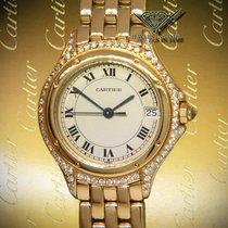 Cartier gebraucht Quarz 26mm Champagnerfarben