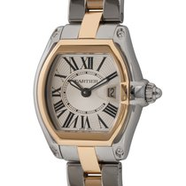 Cartier 2675 Gold/Steel Roadster 32mm pre-owned