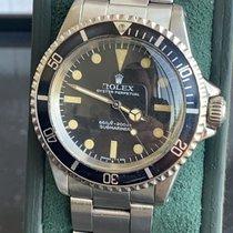 Rolex Submariner (No Date) Acier 40mm Noir Sans chiffres France, nice