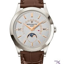 Patek Philippe Perpetual Calendar Platinum 39.5mm Silver No numerals United Kingdom, London