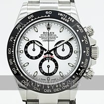 Rolex Automatic White 40mm pre-owned Daytona
