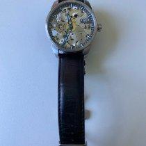 Tissot T-Complication Acier 43mm Transparent Romain