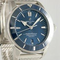 Breitling Superocean Héritage occasion 44mm Bleu Date Acier