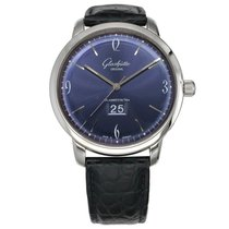 Glashütte Original Sixties Panorama Date Steel 42mm Blue United States of America, Texas, Plano