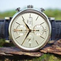 IWC Portofino Chronograph neu Automatik Chronograph Uhr mit Original-Box und Original-Papieren IWC391031 / Code: 6262