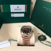Rolex Day-Date 36 Rose gold 36mm Brown No numerals United States of America, California, San Diego