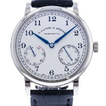 A. Lange & Söhne 1815 White gold 39mm Silver United States of America, Georgia, Atlanta