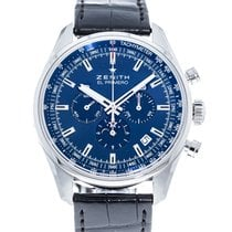 Zenith El Primero 410 Steel 42mm Blue United States of America, Georgia, Atlanta