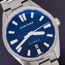 Louis Erard La Sportive Acero 42mm Azul Sin cifras