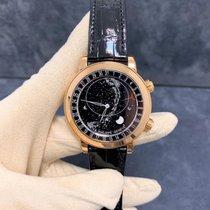 Patek Philippe Celestial Rose gold 44mm Black No numerals