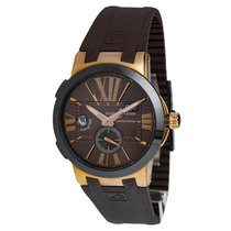 Ulysse Nardin Executive Dual Time Rose gold 43mm Black United States of America, New York, New York