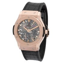 Hublot Classic Fusion Ultra-Thin Rose gold 42mm Transparent United States of America, New York, New York