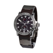Ulysse Nardin Maxi Marine Diver Steel 42.7mm Bordeaux United States of America, New York, New York