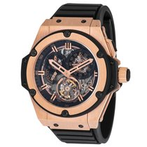 Hublot King Power Rose gold 48mm Transparent United States of America, New York, New York