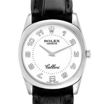 Rolex Cellini Danaos White gold 34mm White Arabic numerals