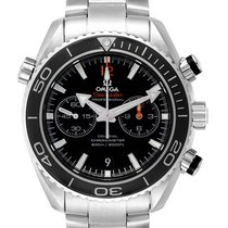 Omega 232.30.46.51.01.003 Acier 2013 Seamaster Planet Ocean Chronograph 45.5mm occasion