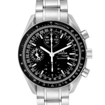 Omega Speedmaster Day Date pre-owned 39mm Black Date Weekday Month Steel