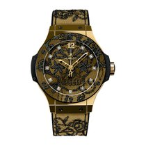 Hublot Yellow gold Automatic Gold 41mm new Big Bang Broderie