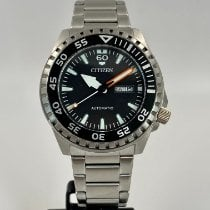 Citizen Steel Automatic NH8388-81E new