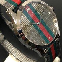 Gucci G-Timeless Acero 42mm Plata Sin cifras España, Valenciana