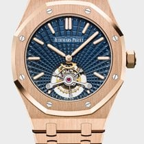 Audemars Piguet Royal Oak Tourbillon Rose gold 41mm Blue United States of America, New York, New York