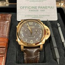 Panerai Rose gold Manual winding Brown 47mm new Special Editions