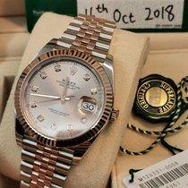 Rolex Datejust II Rose gold 41mm Bronze No numerals United States of America, California, Sunnyvale