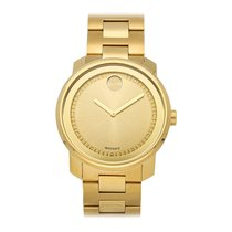 Movado Bold Or jaune 42.5mm Or Sans chiffres