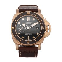 Panerai Luminor Submersible PAM 968, PAM00968 Very good Bronze 47mm Automatic
