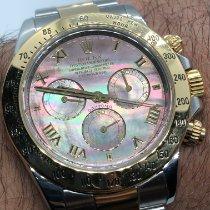 Rolex Daytona Gold/Steel 40mm Mother of pearl No numerals UAE, Abu Dhabi