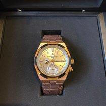 Vacheron Constantin Overseas Dual Time Rose gold 41mm Silver